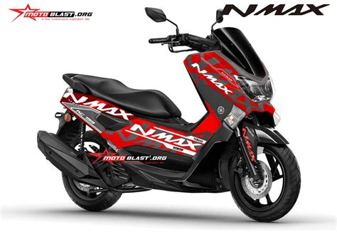 Modifikasi Motor Matic by Modifikasi Motor Matic Terbaru Yamaha Nmax Striping