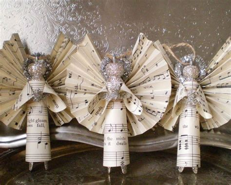 note decorations 10 beautiful sheet ornaments you can make