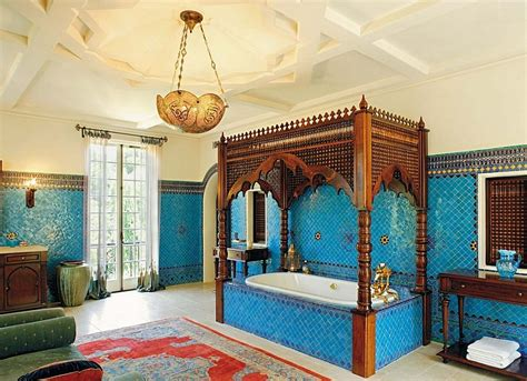 Colonial House Designs moroccan bathrooms with a modern flair ideas inspirations
