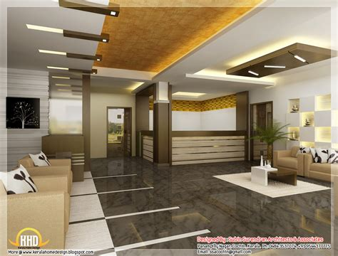 interior designing ideas for home beautiful 3d interior office designs kerala house design