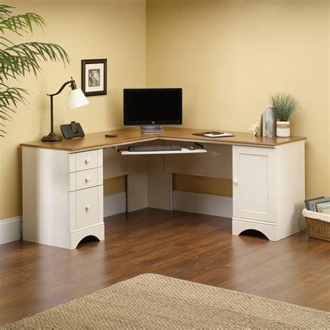 wooden corner desk with hutch furniture l shaped white wooden corner desk with hutch