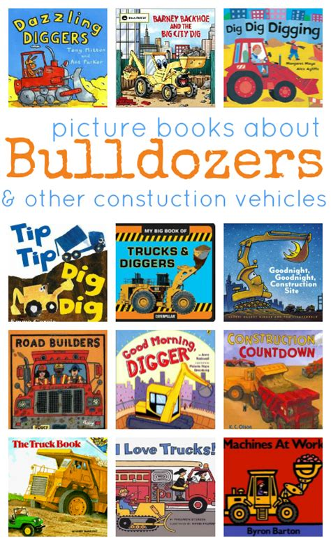 picture books about names 13 books about construction vehicles no time for flash cards