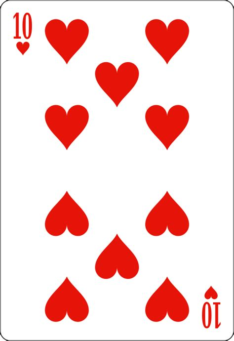 of hearts file 10 of hearts david bellot svg wikimedia commons