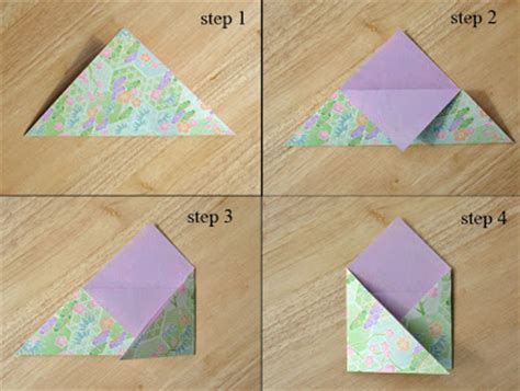 how to make an origami envelope step by step willy nilly waterlily blythe woolly hoods an