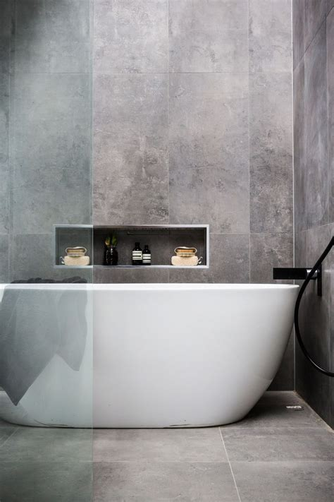 modern gray tile bathroom 17 best ideas about charcoal bathroom on white