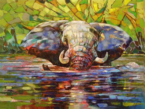 painting palette knife africa inspired palette knife paintings by radka kirby
