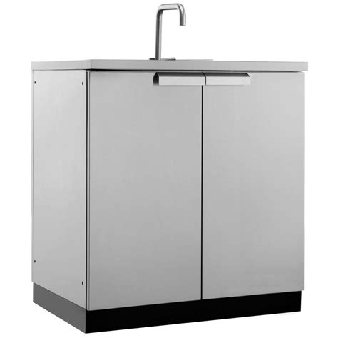 outdoor kitchen cabinets stainless steel newage products stainless steel classic 32 in sink