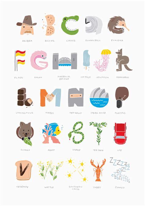 Australian Alphabet Dave Foster