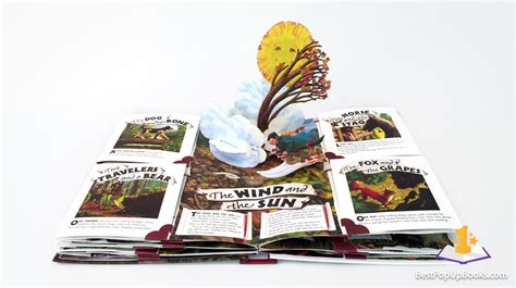 pictures of pop up books aesop s fables pop up book best pop up books
