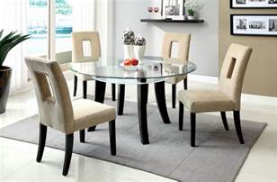 Zamora Dining Room Set Kitchen Glass Tables Glass Kitchen Tables And Chairs