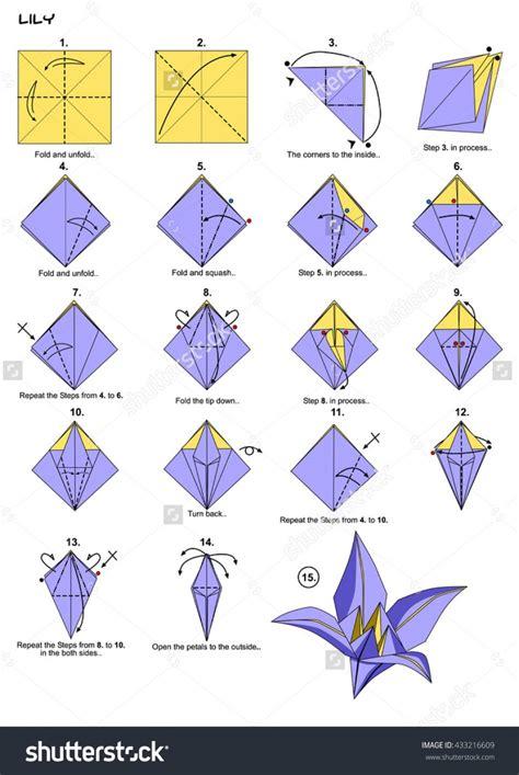 origami flower pdf origami origami origami flower steps