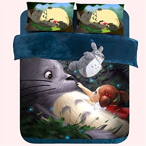my totoro bed set best anime bedding sets for