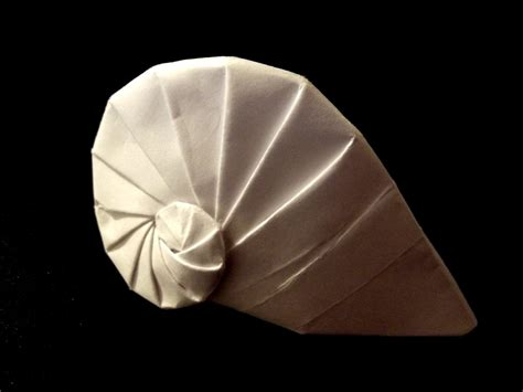 origami shell origami navel shell by thatandyguy95 on deviantart
