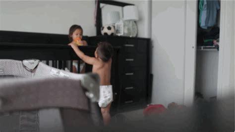 spycam bedroom captures the secret lives of babies