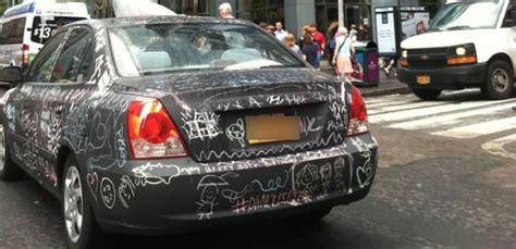chalkboard car painting the chalkboard car a work of