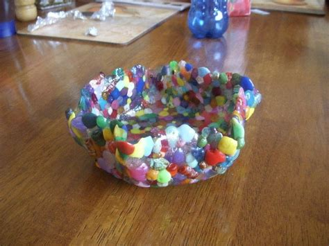 melted bead bowl melted bead bowl 183 a bead bowl 183 version by ruthie toothie