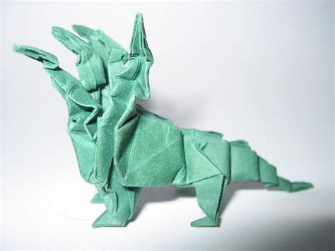 three headed origami origami five headed hydra by pepius on deviantart