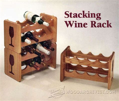 woodworking plans wine rack stacking wine rack plans woodarchivist