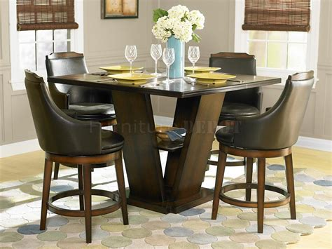 Height Dining Table Set Wonderful Counter Height Dining Table Coaster Room Photo Of A Square Standard
