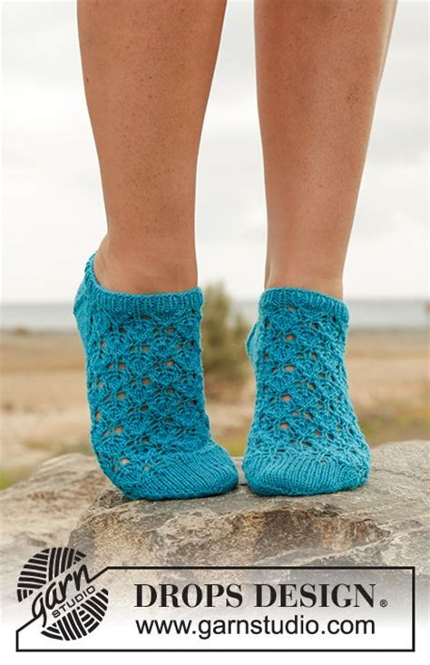 knitted ankle socks patterns free splash ankle socks with lace pattern in quot fabel quot free
