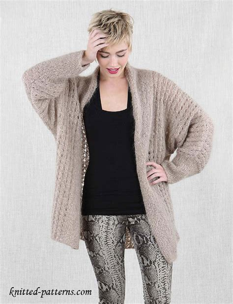 free knitting patterns for jackets free knitting pattern s cosy jacket