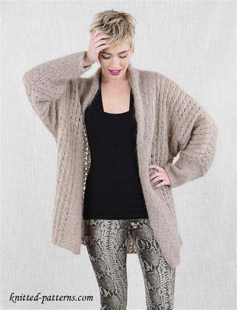 free jacket knitting patterns free knitting pattern s cosy jacket
