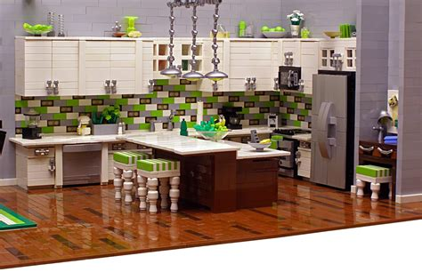 lego kitchen the brickverse amazing lego interiors