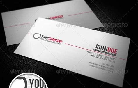 how to make a professional business card 50 attractive business card psd templates creative