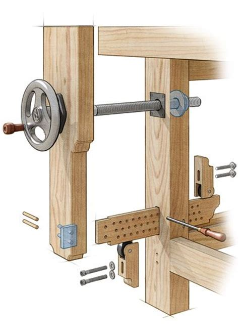 woodworking bench vise plans leg vise search woodworking workbench