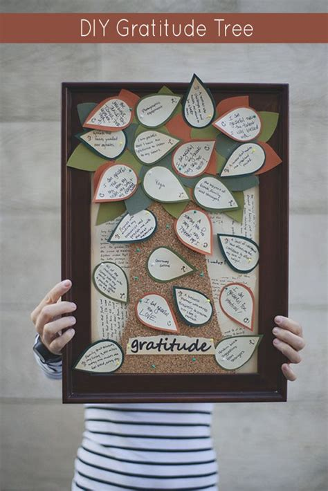 gratitude crafts for diy gratitude tree thanksgiving craft fall thanksgiving