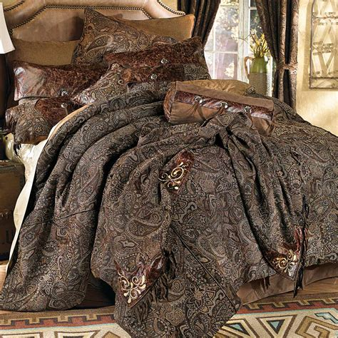 paisley bed sets western bedding western paisley beaumont bedding