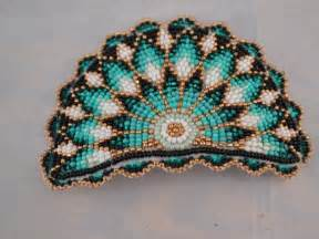 how to make american beaded barrettes american beadwork hair barrette signed by nancy