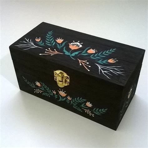 decorative jewelry boxes ideas 25 best ideas about painted wooden boxes on pinterest