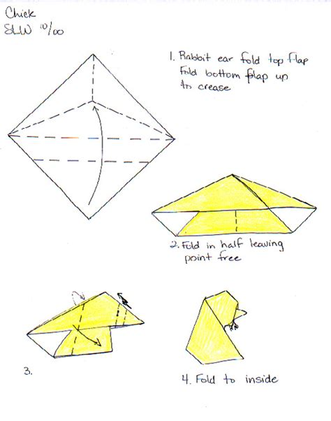 origami resources and egg by wooden