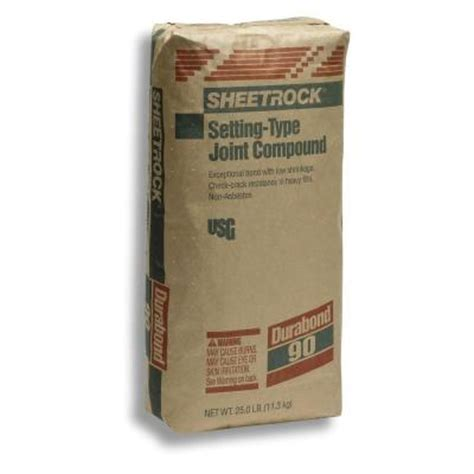 home depot paint types sheetrock brand 25 lb durabond 90 setting type joint