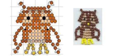 owl pony bead pattern seed bead owl pattern pony and perler