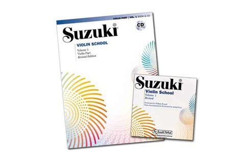 Suzuki Violin Book 1 Cd by Suzuki Violin School Volume 1 Revised Edition Book Cd