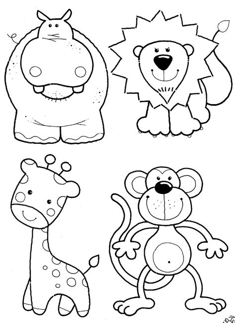 coloring book pictures of animals coloring pages animals coloring ville