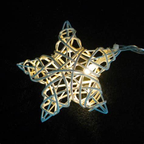 wicker string lights rattan wicker stringlights