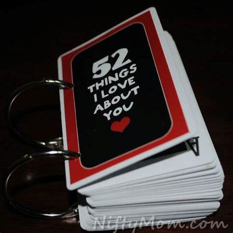 how to make 52 reasons i you cards 52 things i about you ideas tips