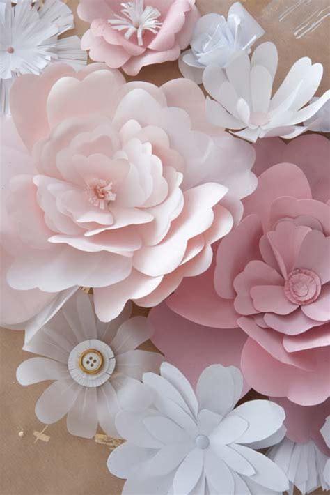 diy paper flowers craft diy paper flowers the budget decorator
