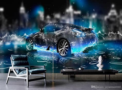 Car Wallpaper For Walls by Hd Wallpaper For Bedroom Walls Water Sports Car 3d Wall