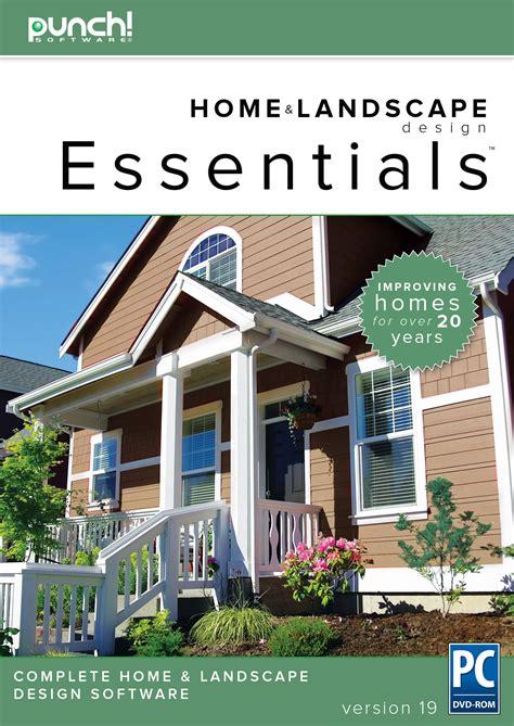 punch home design software comparison punch home landscape design essentials v19 home