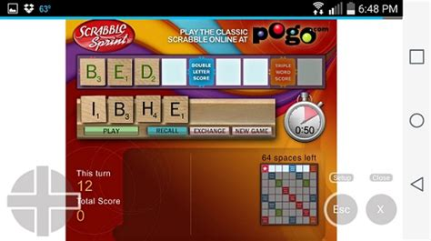 scrabble sprint can i play flash on an or android device