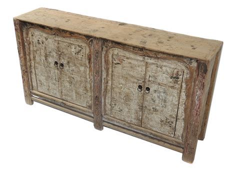 antique painted sideboard buffet media cabinet with