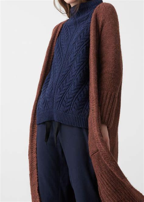 knit sweater cardigan 64 best knit sweaters f w aran blue images on
