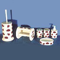 ladybug bathroom accessories 1000 images about bug home decor and more on