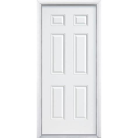 home depot 6 panel interior door 36 in x 80 in 6 panel primed premium steel front door
