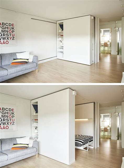 ikea movable walls turn small spaces into cozy homes with ikea s sliding walls