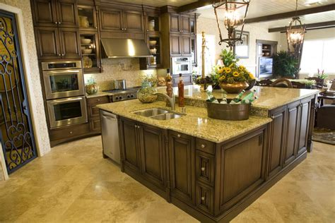 two tier kitchen island eclectic mix of 42 custom kitchen designs